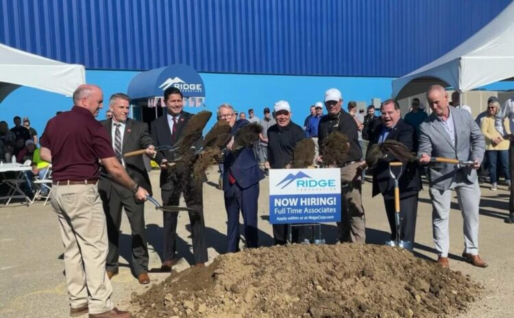 Ridge Invests $11 Million in New Manufacturing
